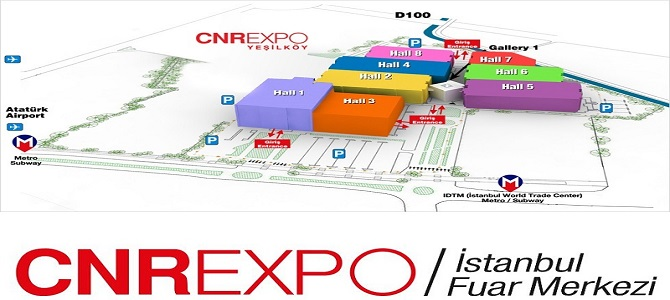 تقویم نمایشگاهی سی ان آر استانبول ترکیه 2020